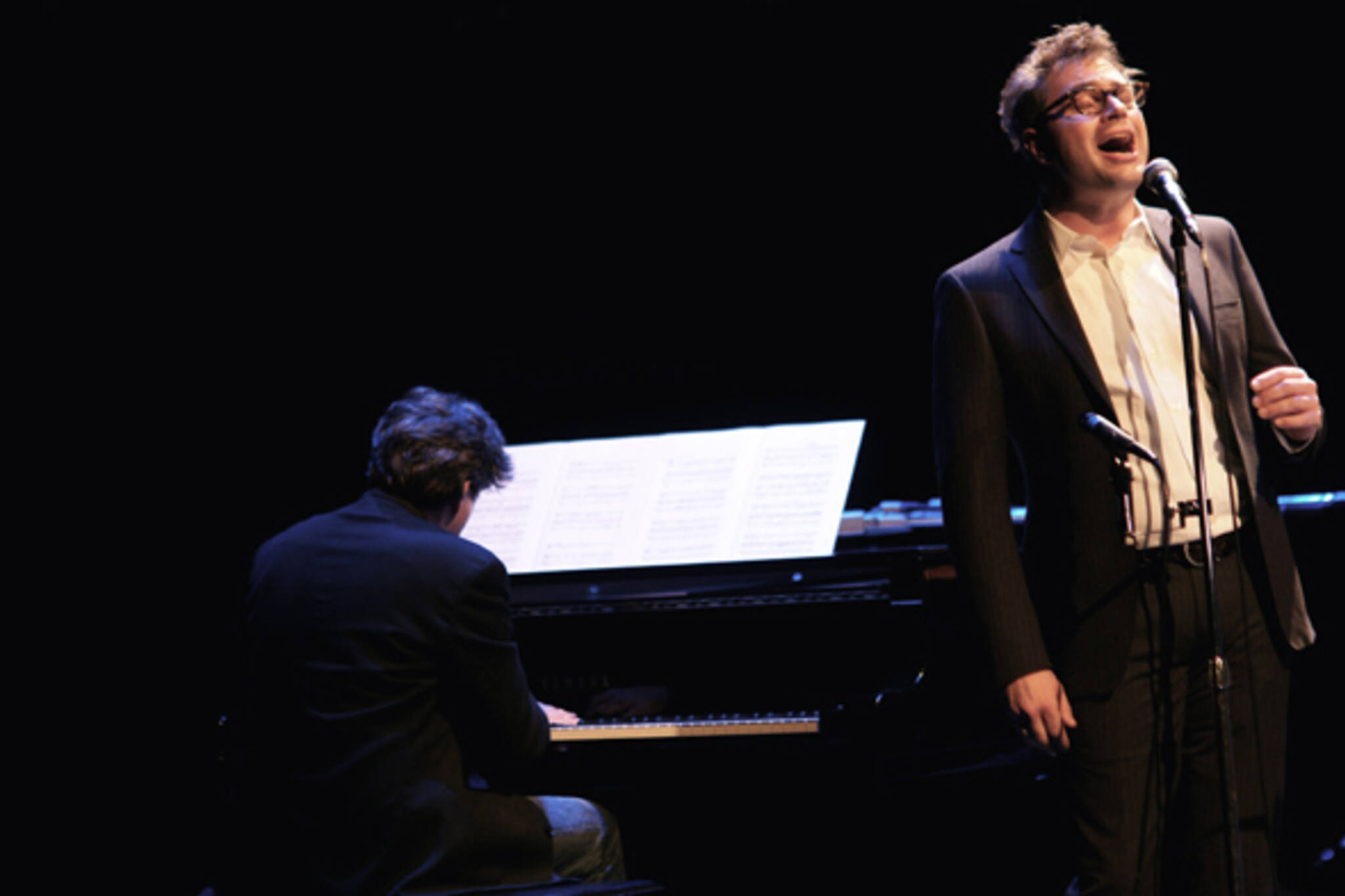 Steven Page at the Art of Time Ensemble's Abbey Road tribute