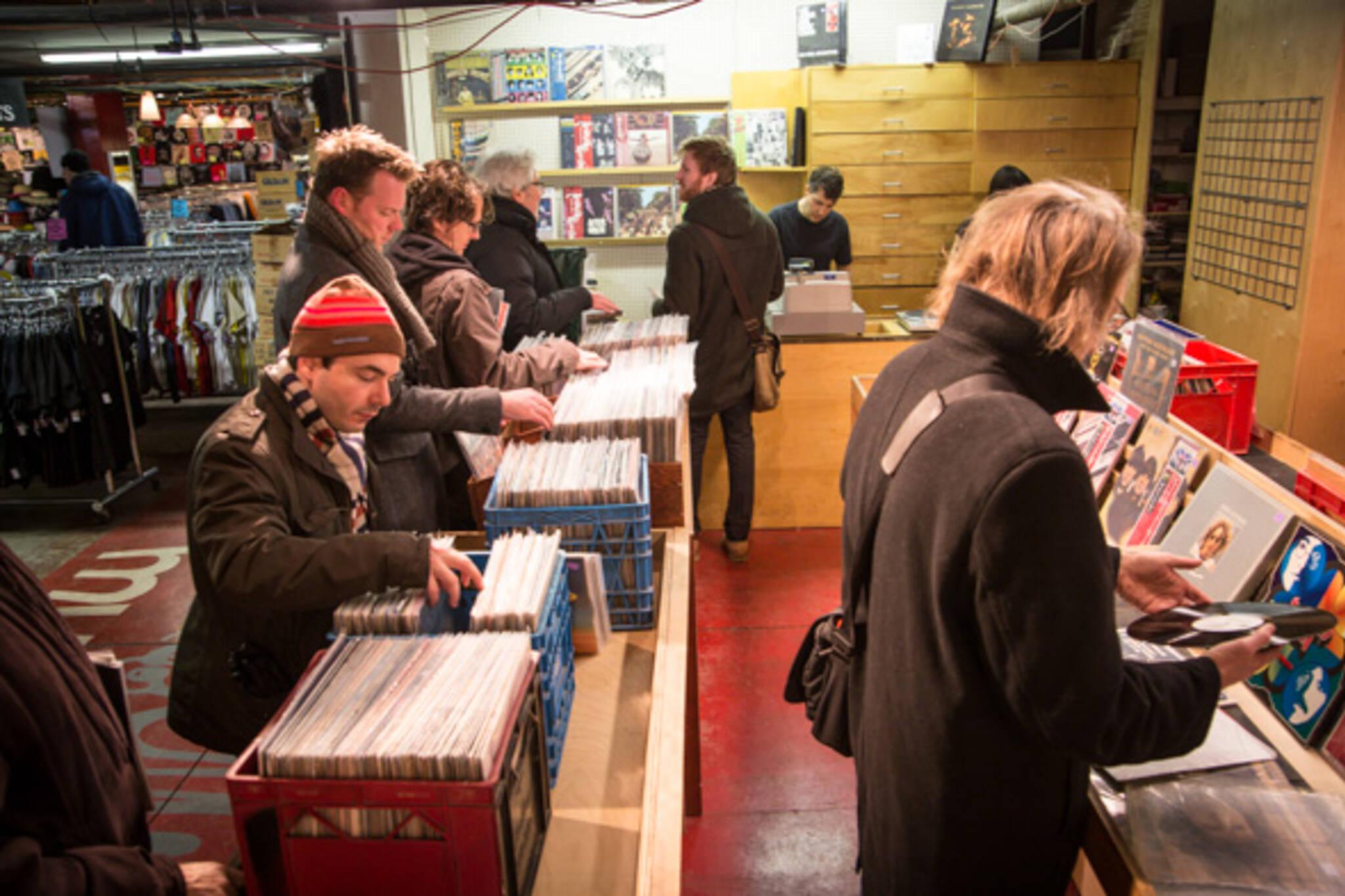 record shop toronto