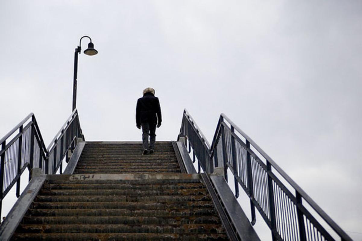 toronto stairway