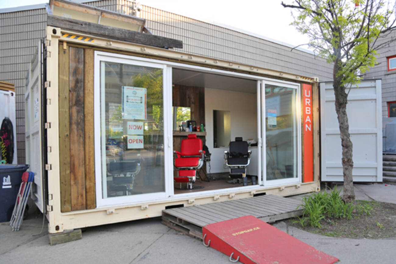 Toronto Gets A Barber Shop In A Shipping Container