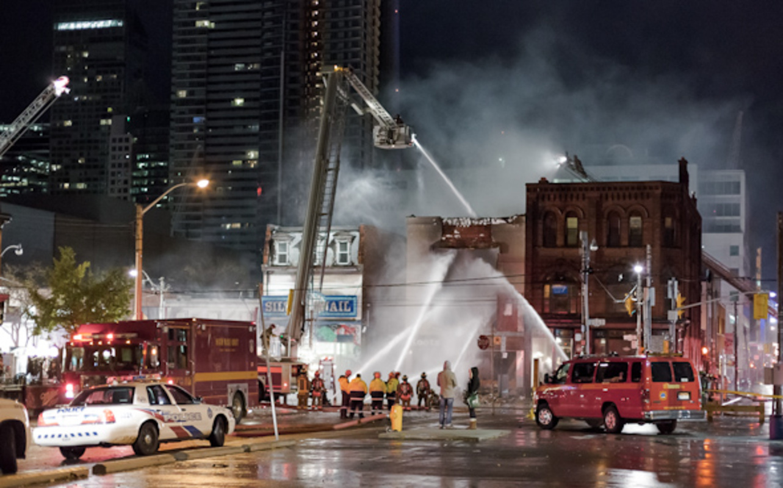 Queen West Fire