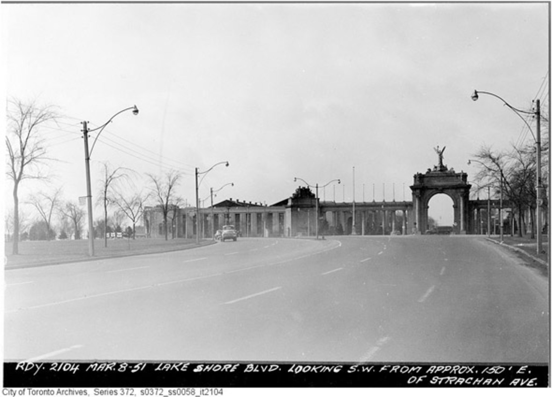 Lake Shore Boulevard History Toronto