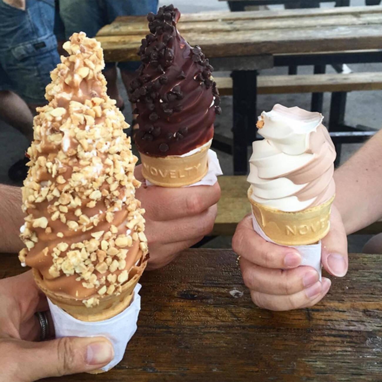 how to keep homemade ice cream soft