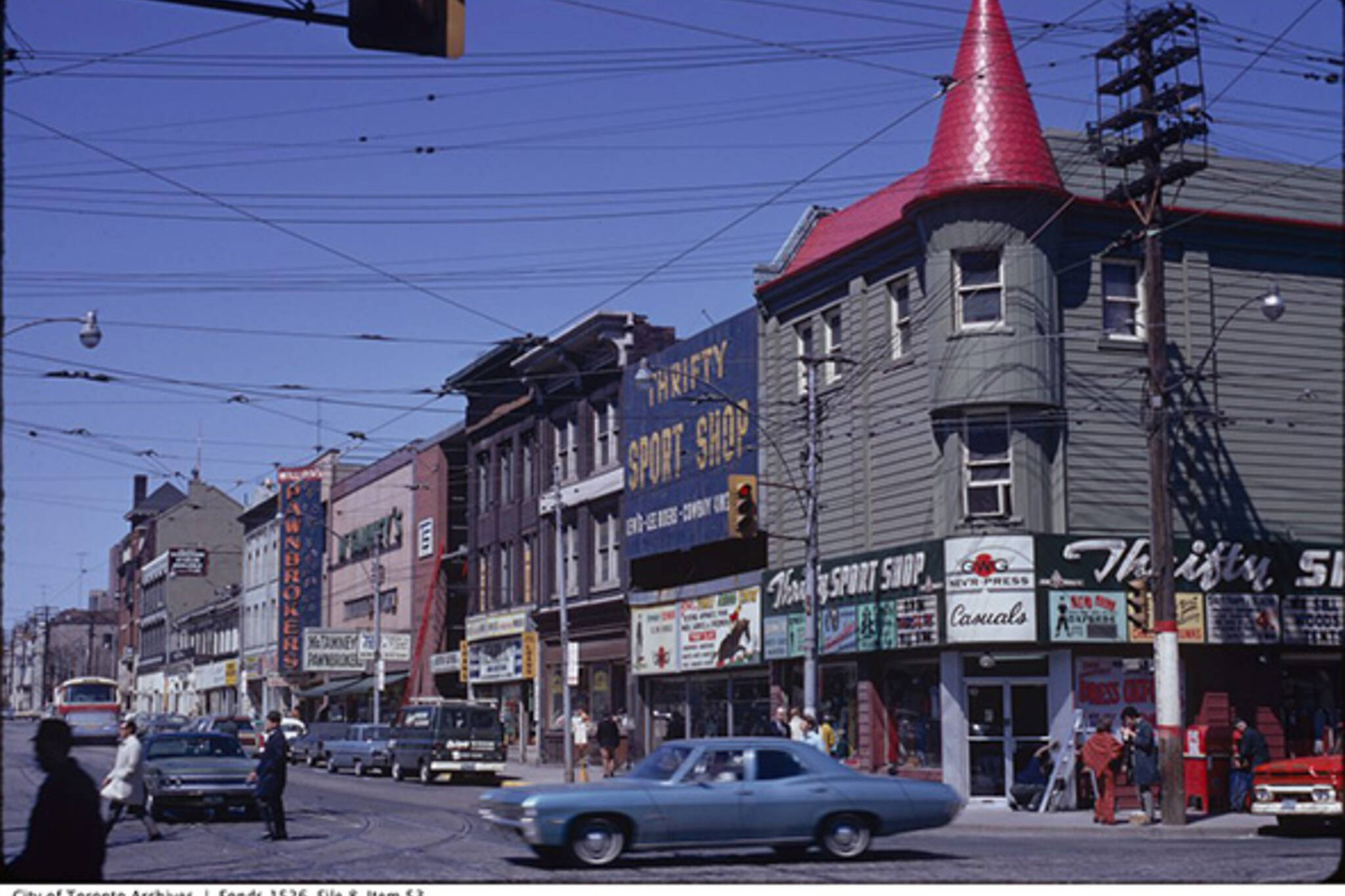 Church Street History Toronto