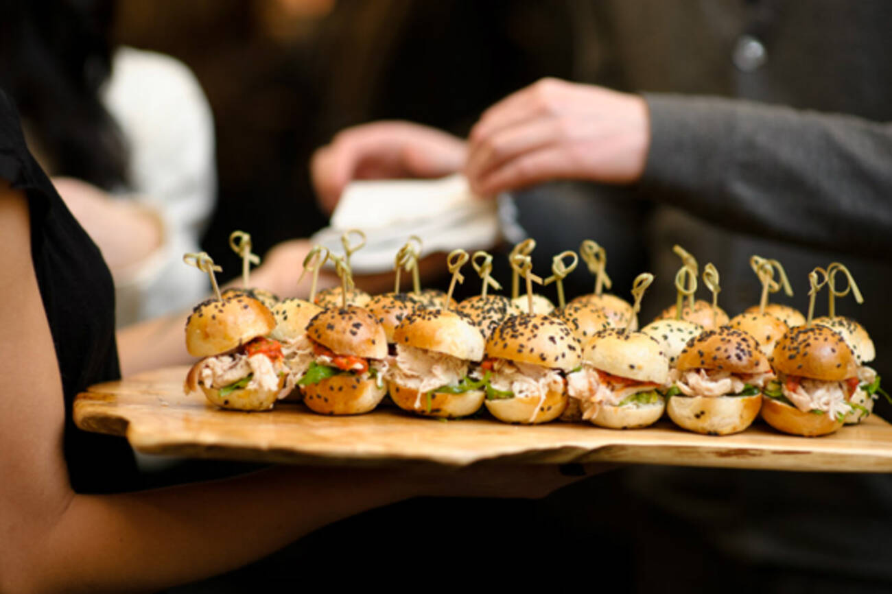 The top 50 catering options in toronto for Types of canape
