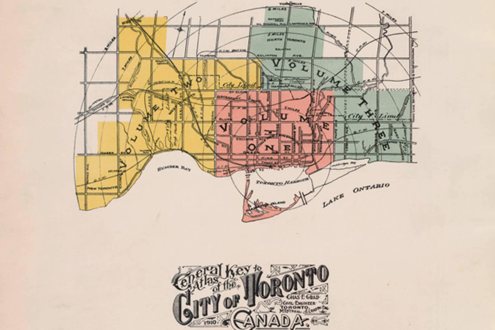 Goad's Fire Atlas Toronto