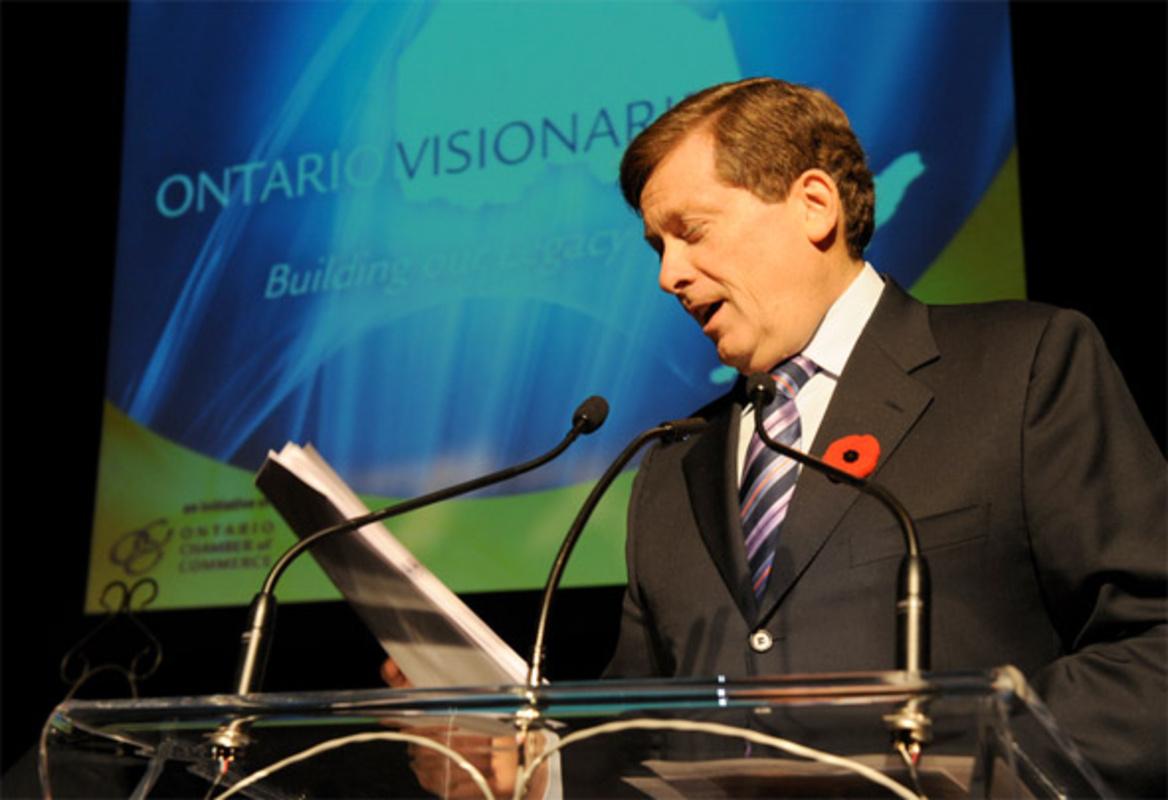 John Tory Toronto mayor race