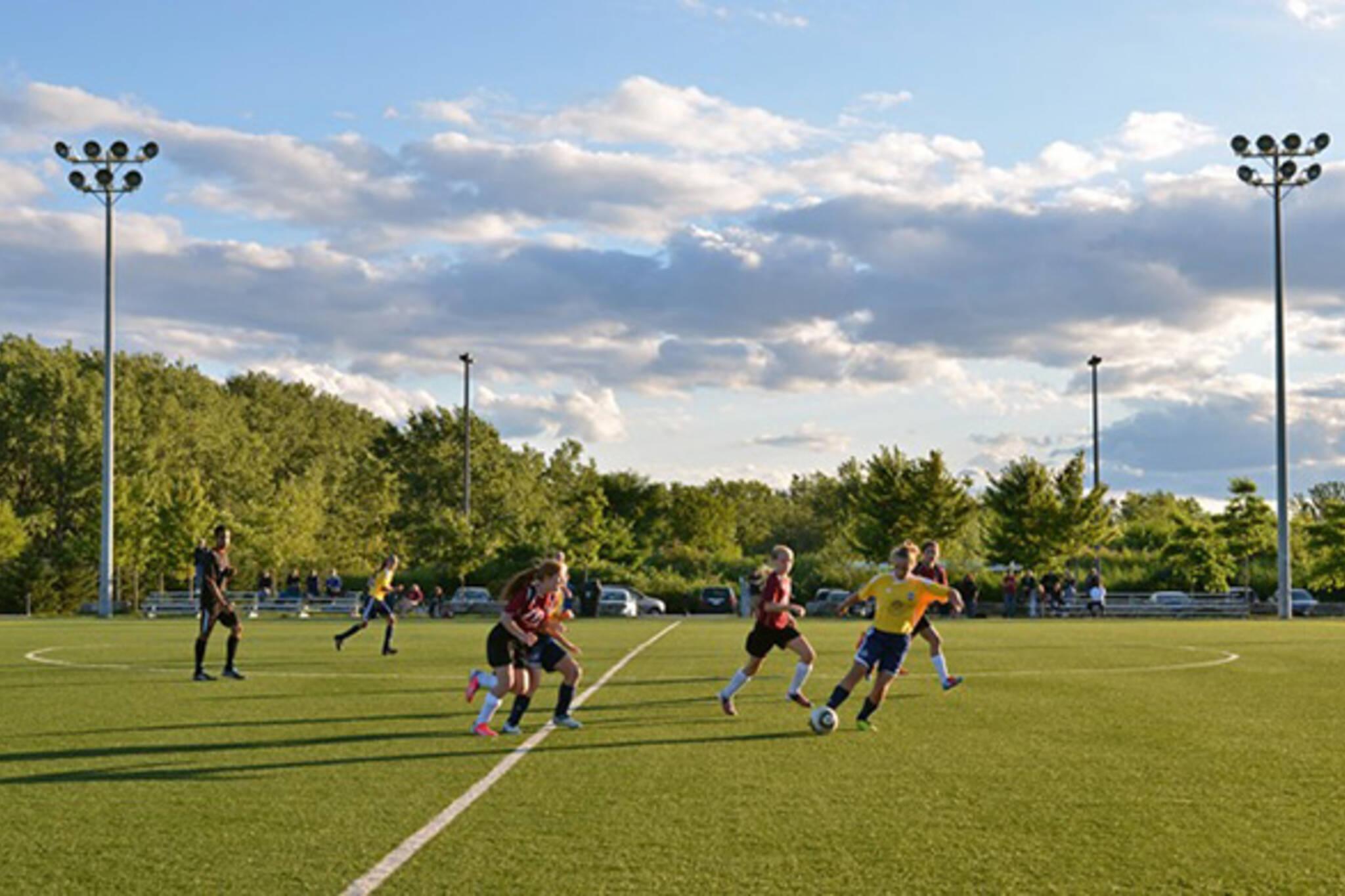 outdoor sports fields toronto