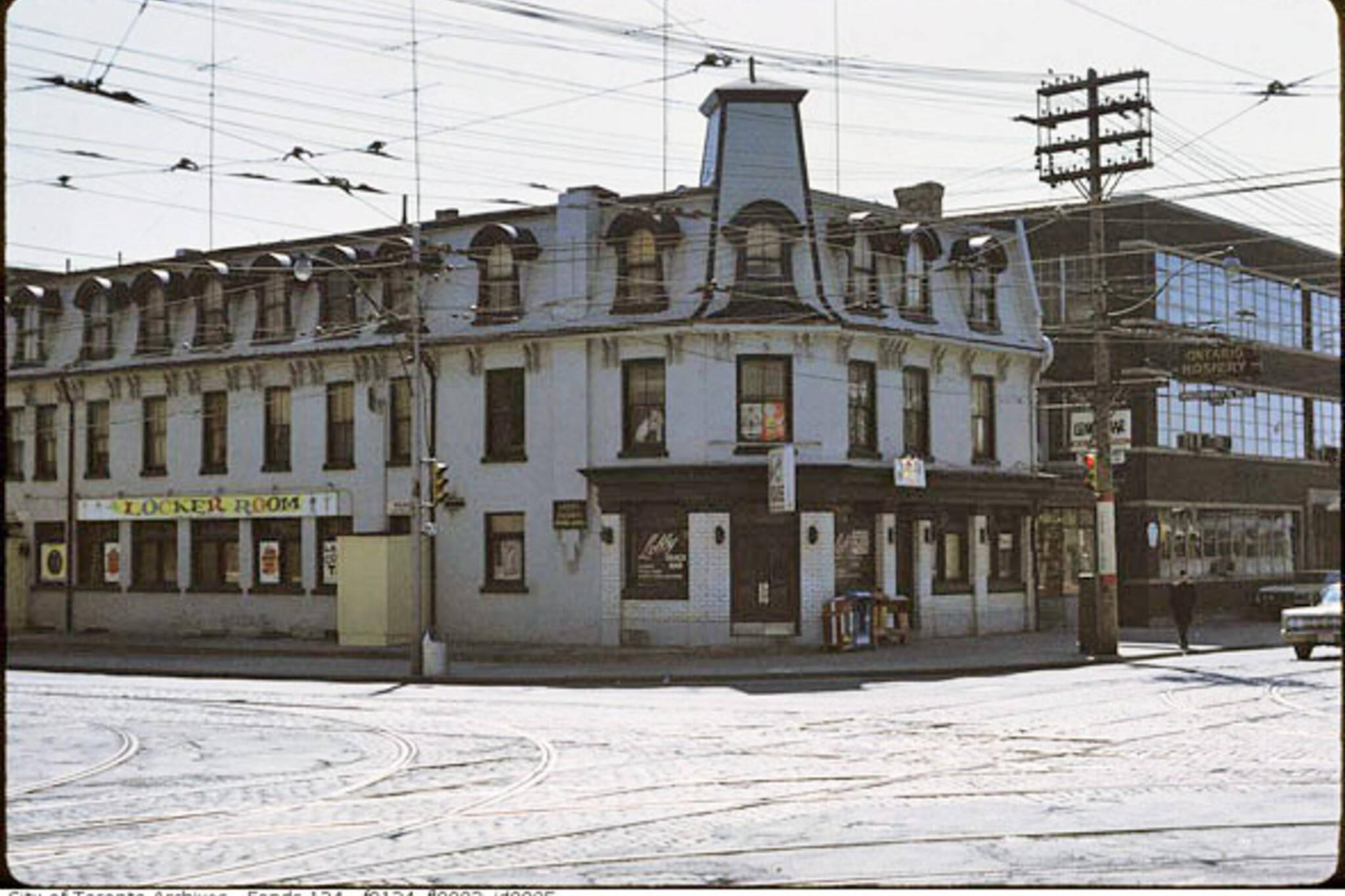 oldest bars toronto