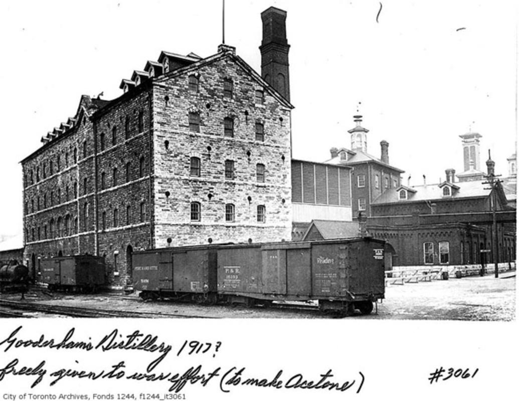 Gooderham Worts Distillery District