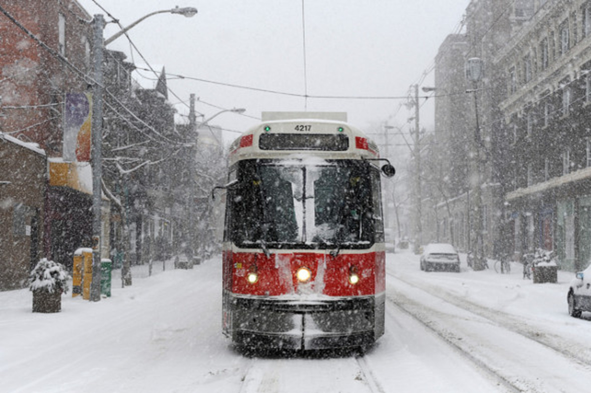 Toronto Is About To Get A Major Snow Storm