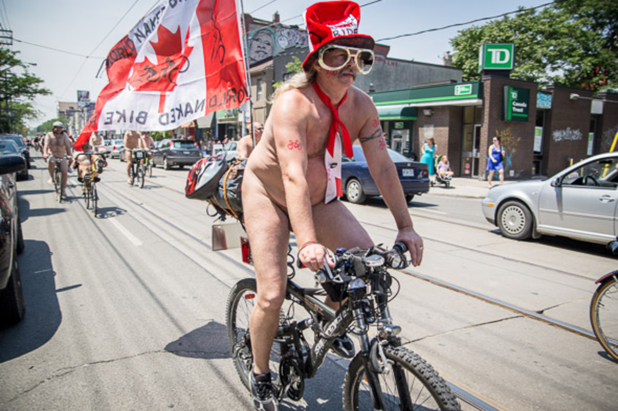 World Naked Bike ride Toronto 2013