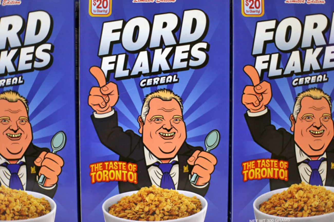 win a box of ford flakes cereal contest