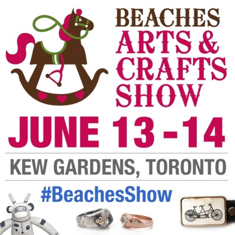 Beaches arts and crafts show for Art craft shows