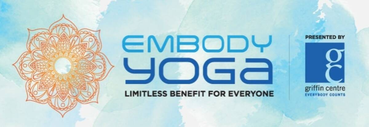 Griffin Centre's EMBODY YOGA