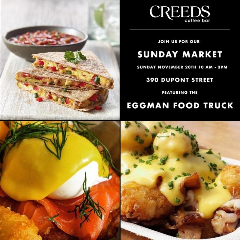 Sunday Food Truck At Creeds Coffee Bar
