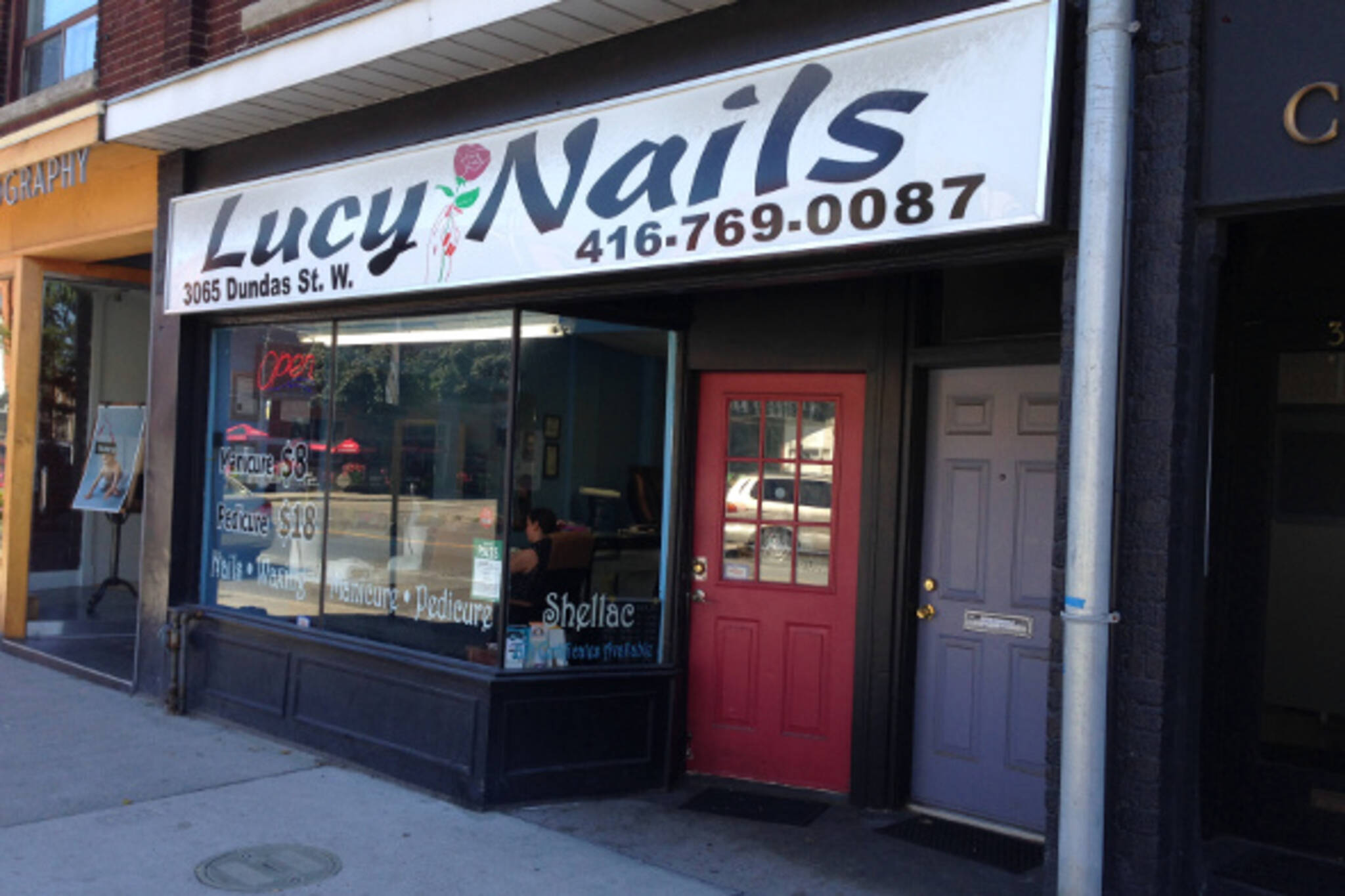 lucy nails toronto