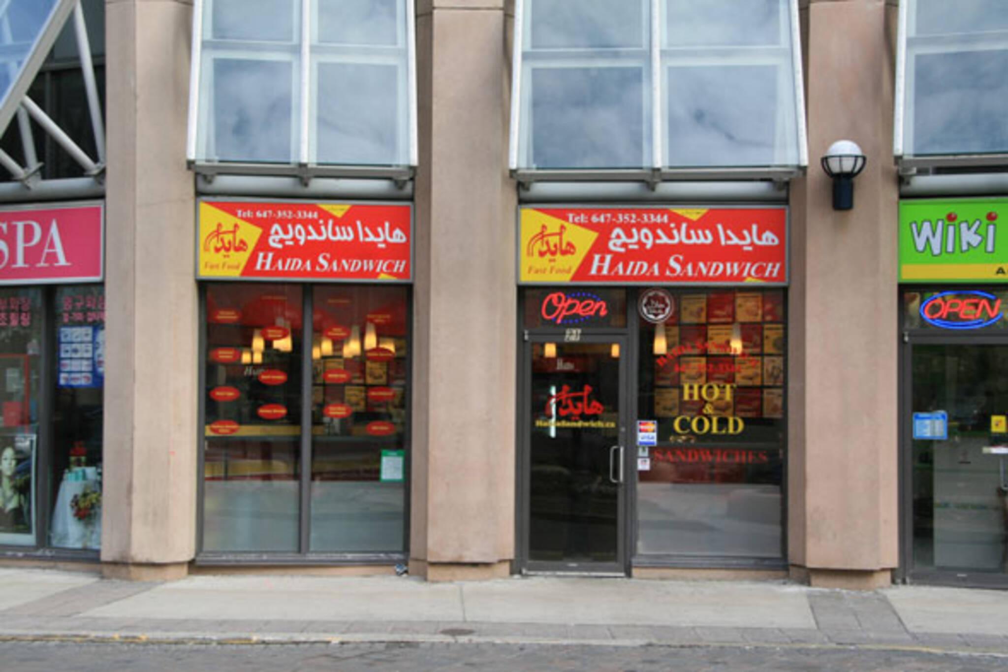Haida Sandwich Toronto