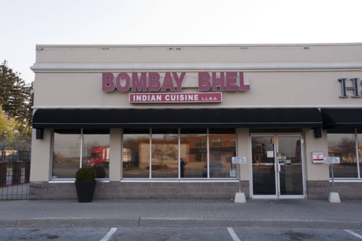Bombay bhel mississauga for Agra fine indian cuisine