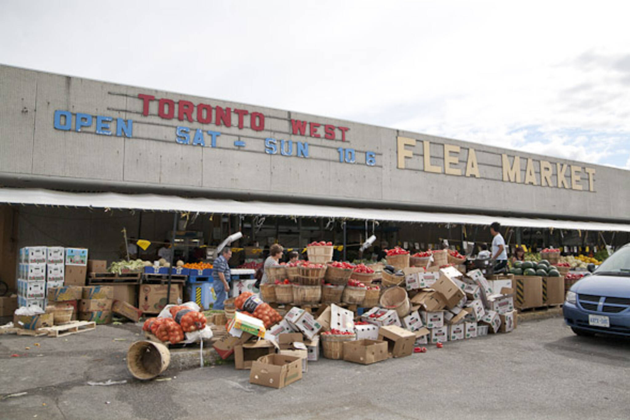 Toronto Weston Flea Market