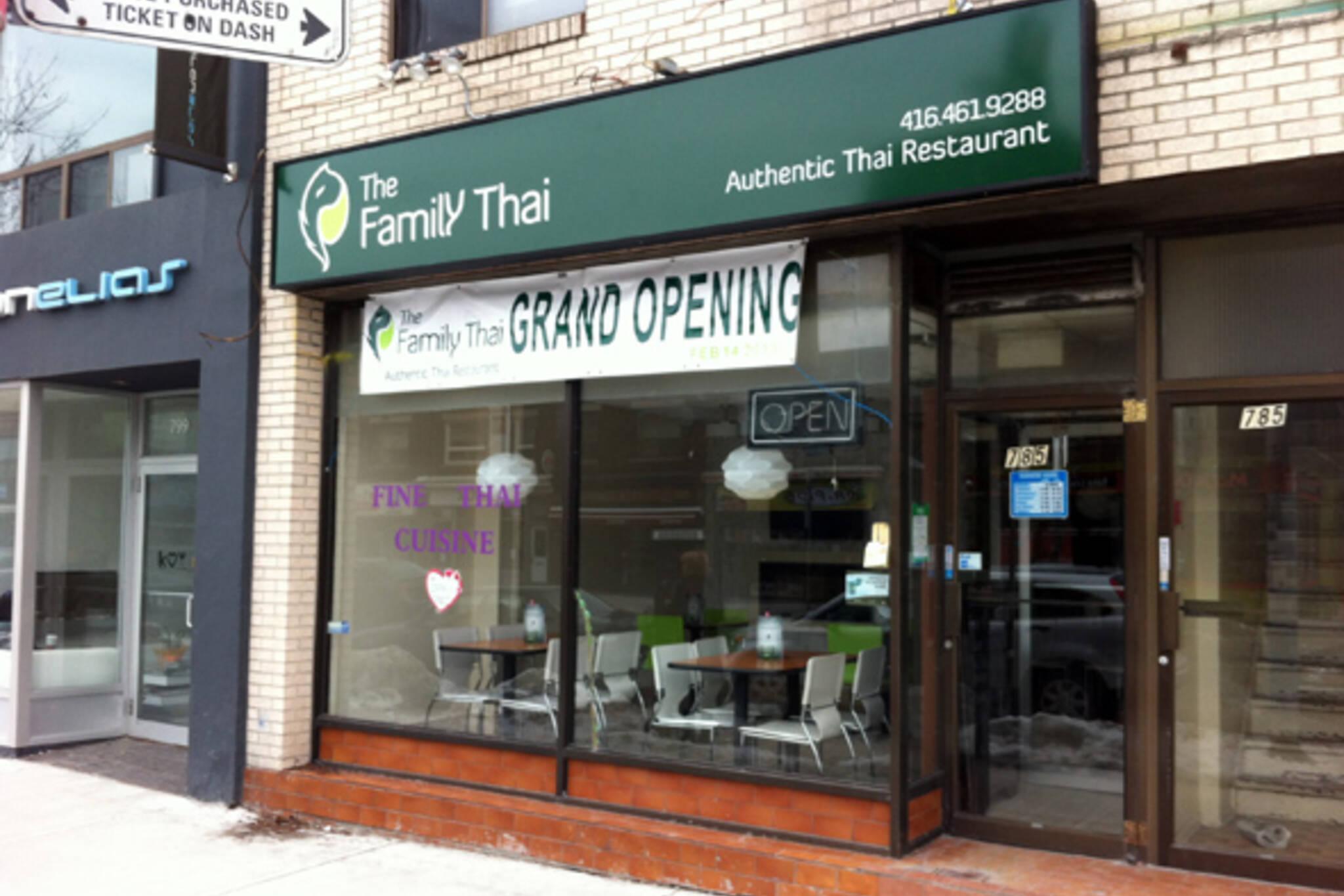 Family Thai Toronto