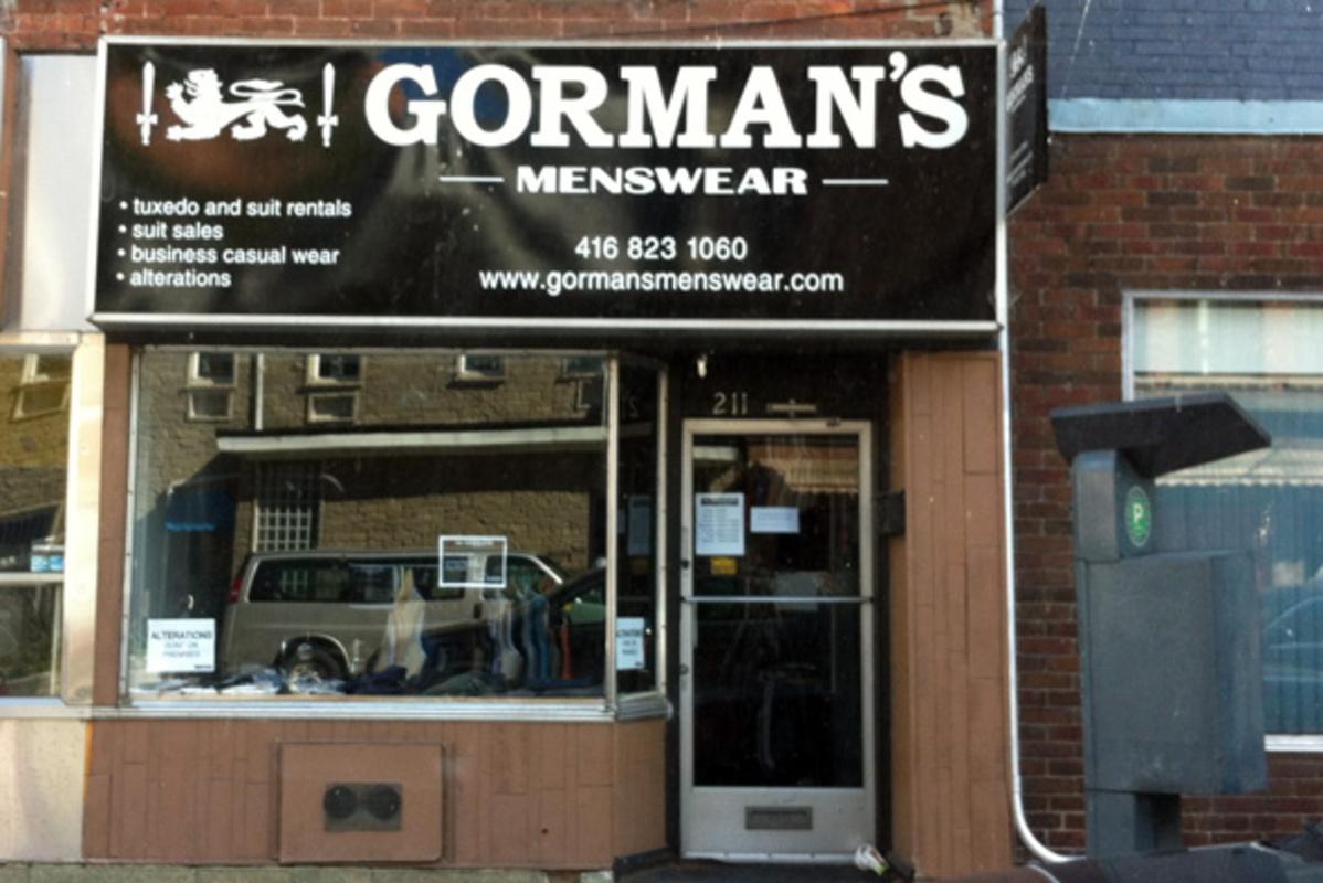 Gormans menswear