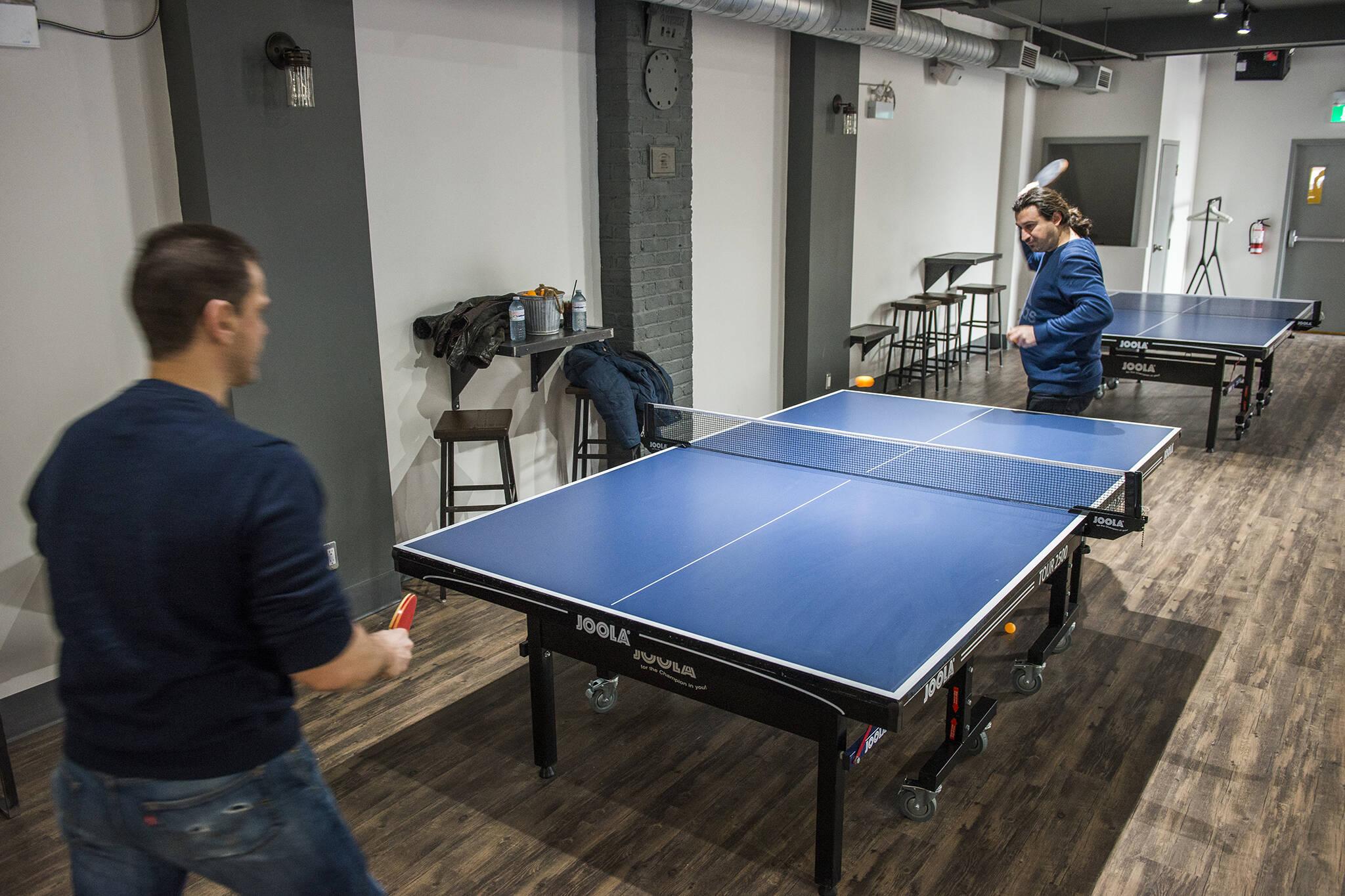Smash Ping Pong Lounge Toronto