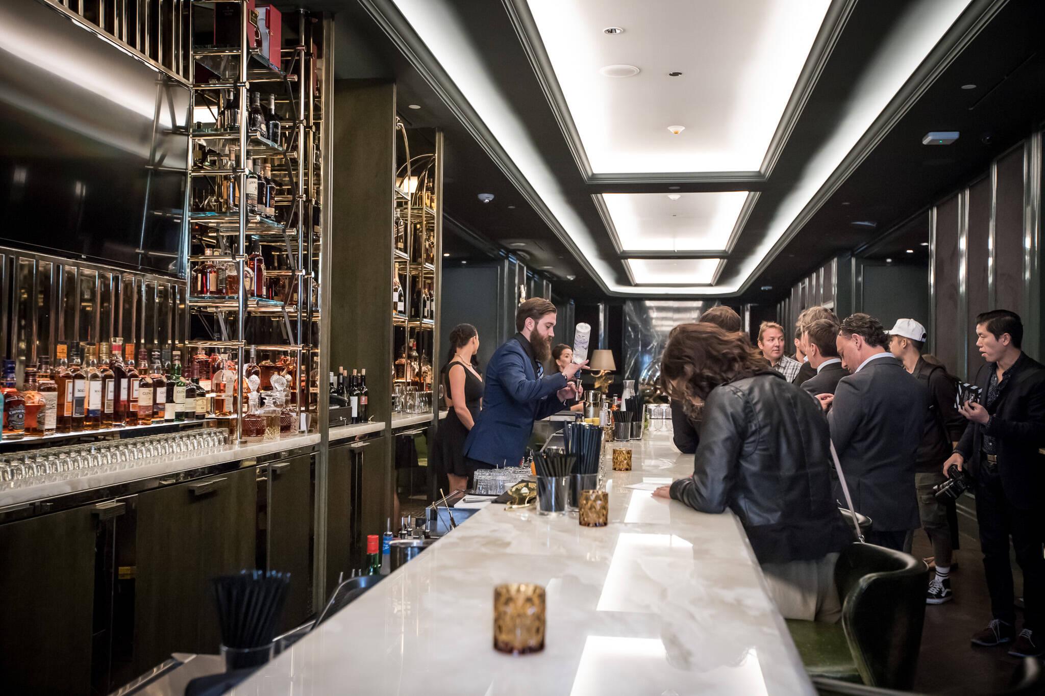 The Lobby Bar At Bisha Hotel Blogto Toronto