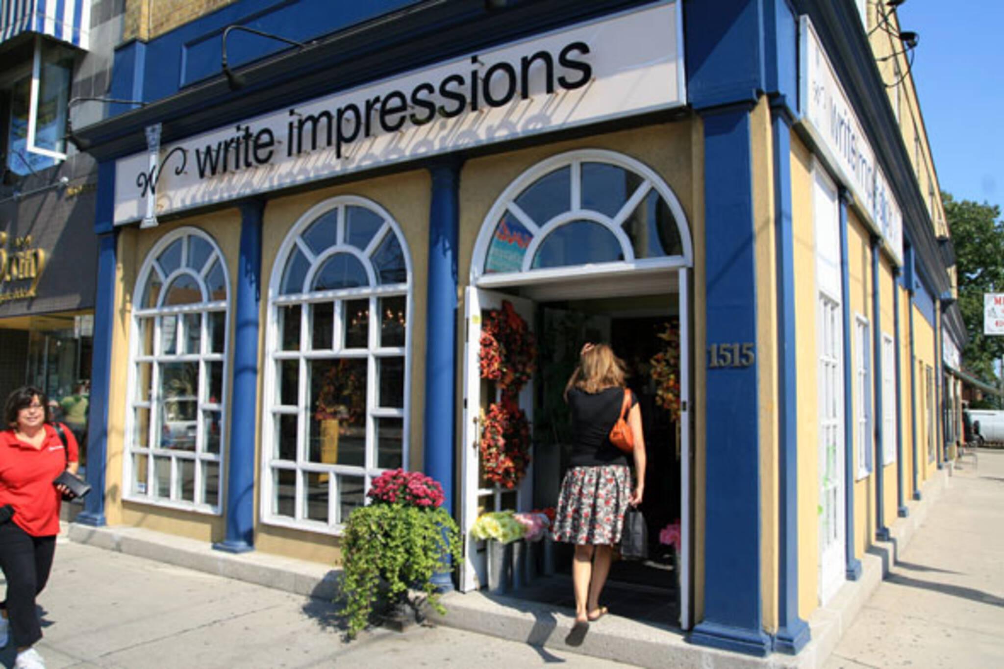 Write Impressions