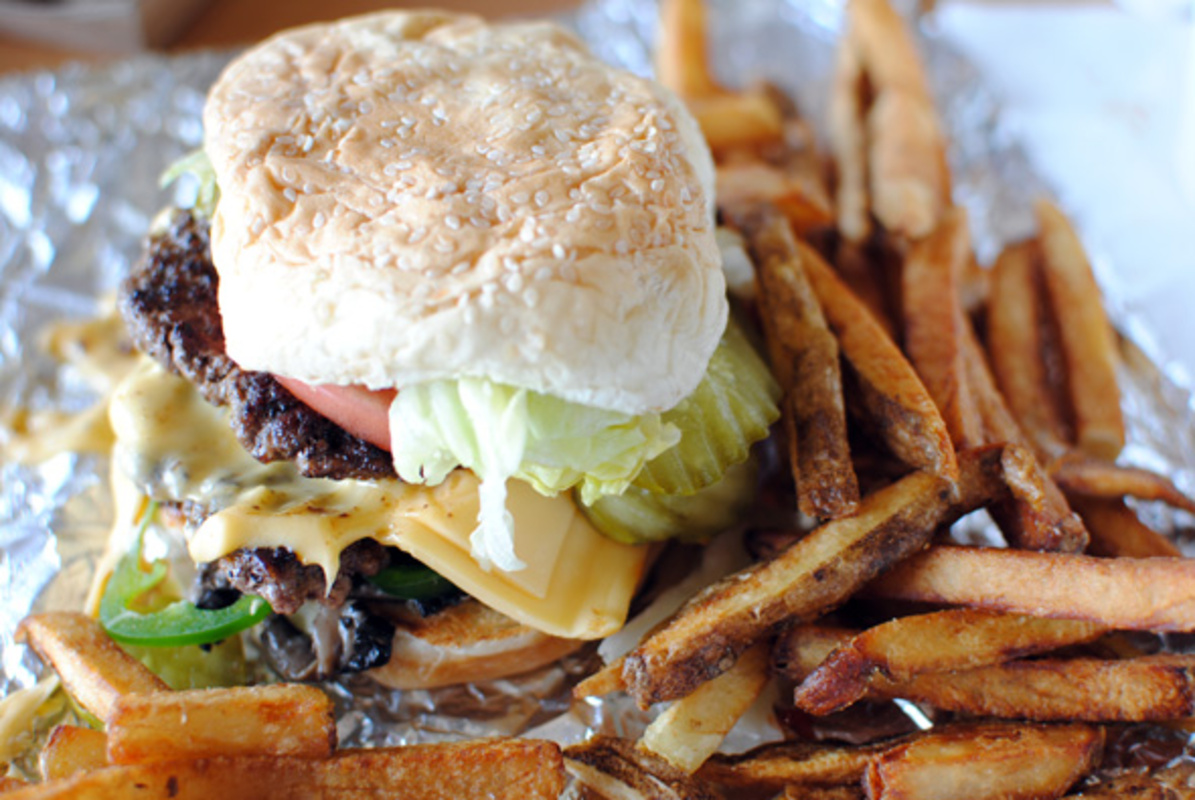 Five Guys Burgers Toronto