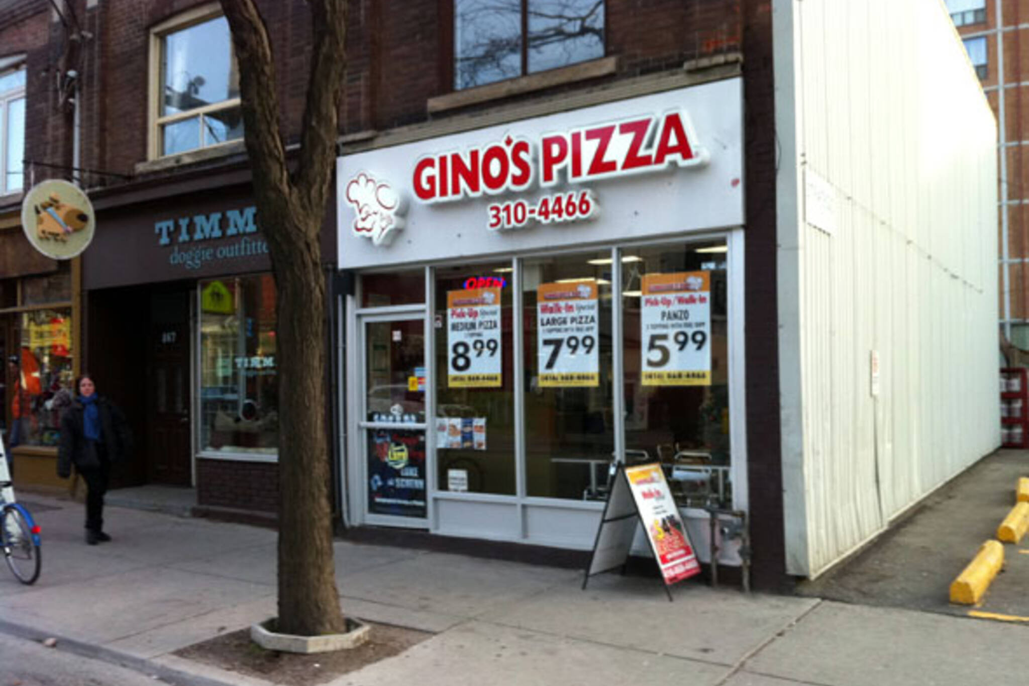 Ginos Pizza