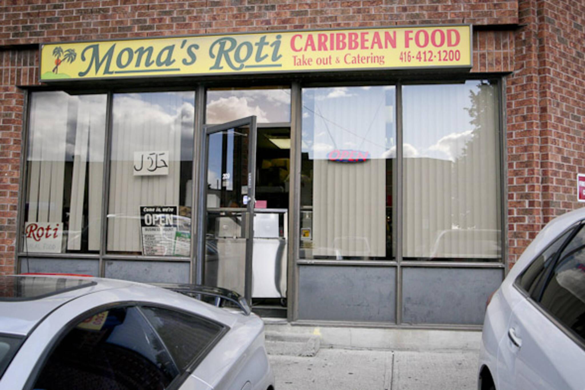 Mona's Roti Toronto