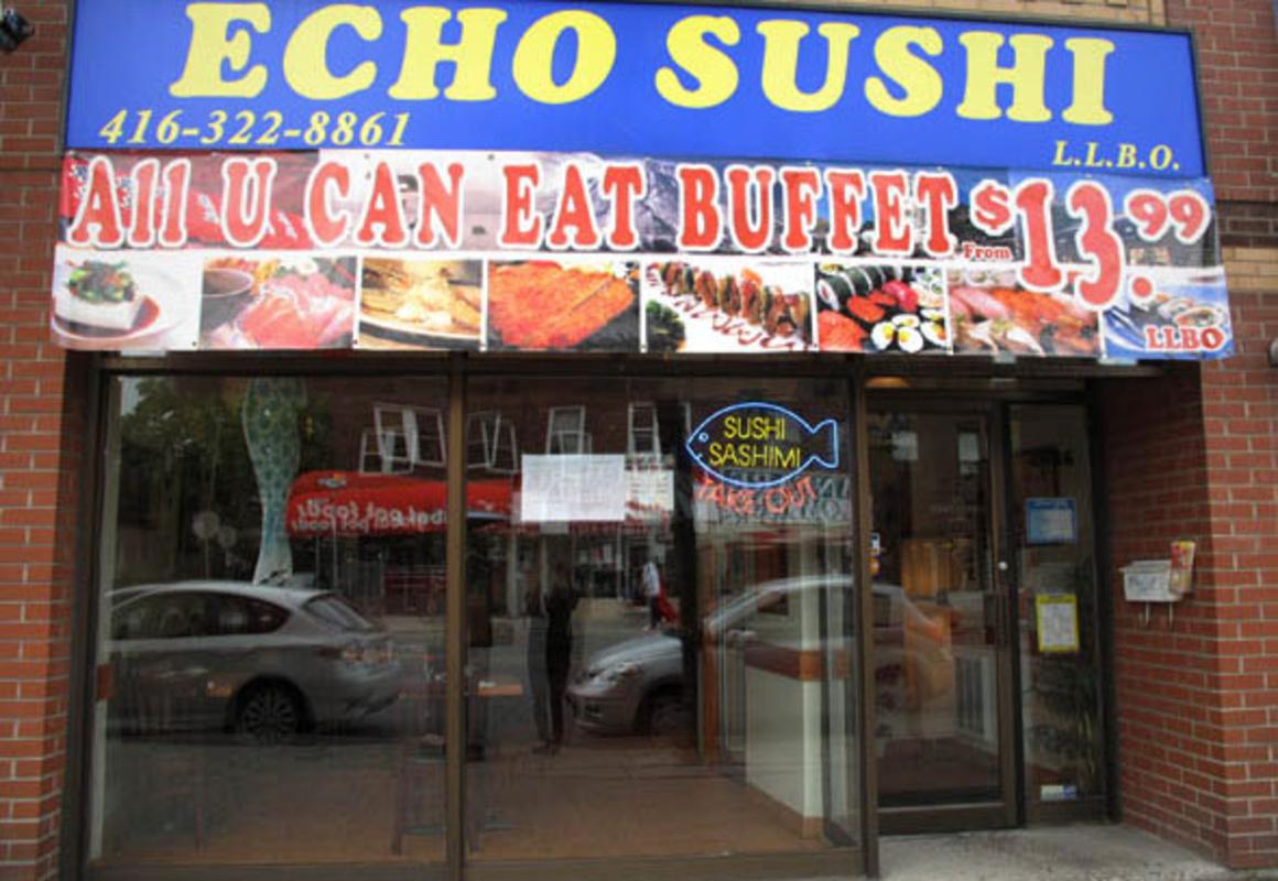 Echo Sushi Toronto