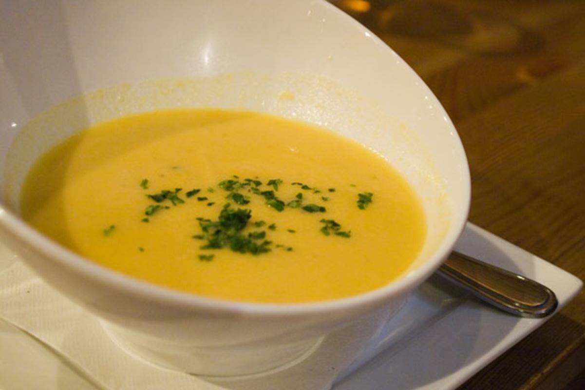 rush hour cauliflower soup