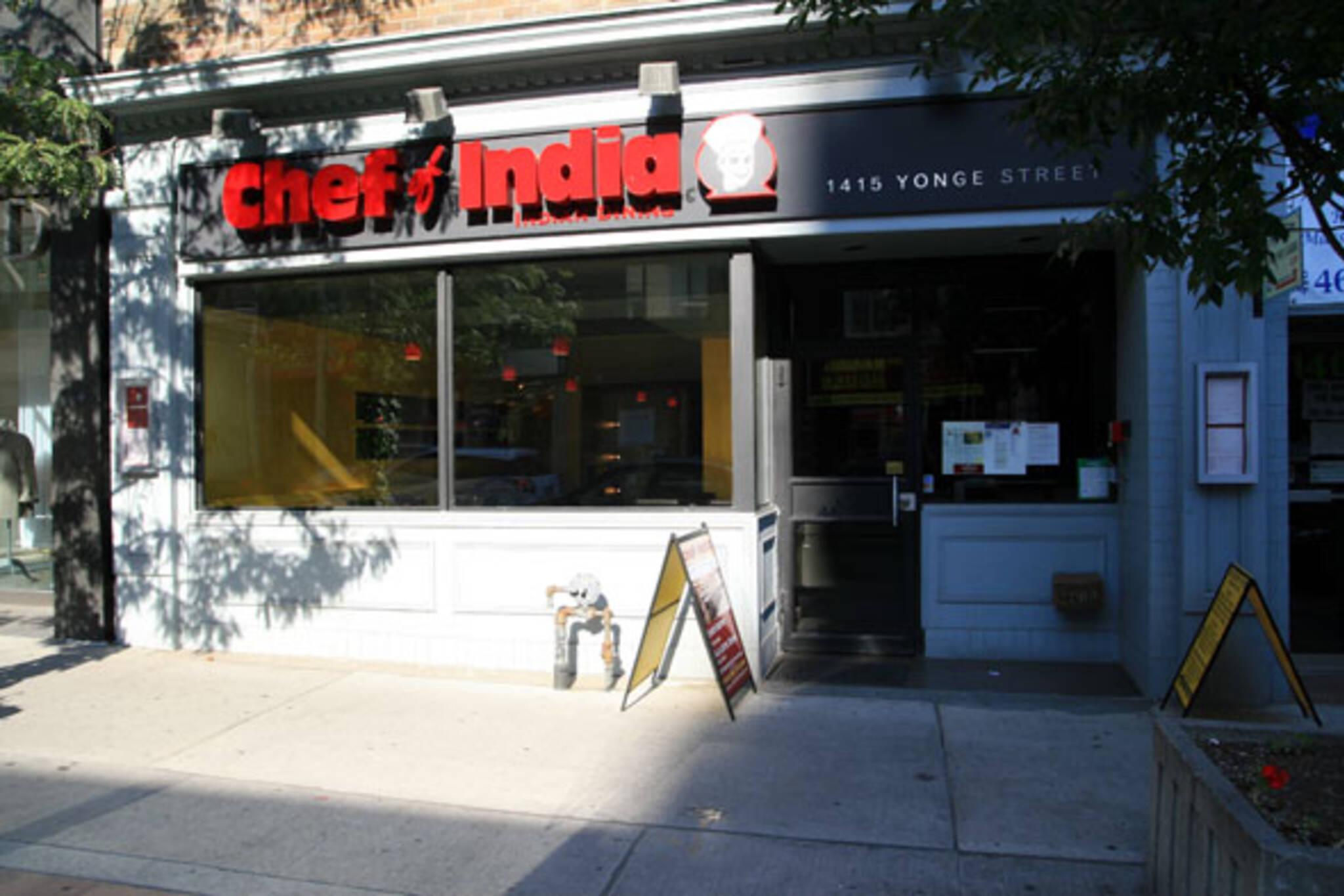 Chef of India Toronto