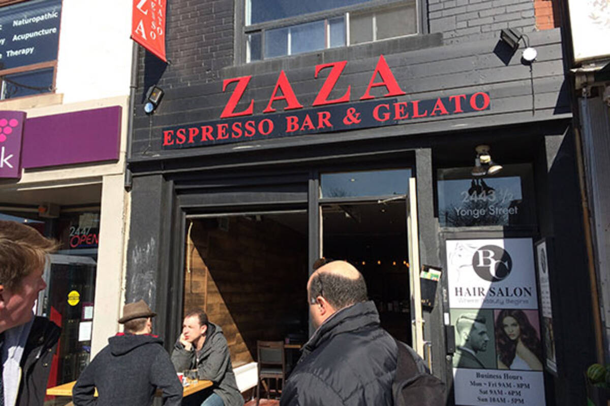 Zaza Espresso Bar Yonge Eglinton