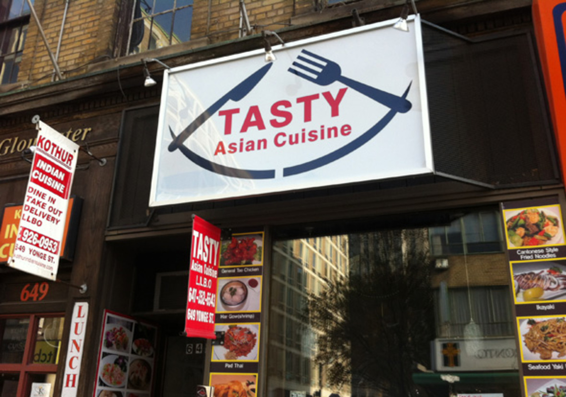 Tasty Asian Cuisine