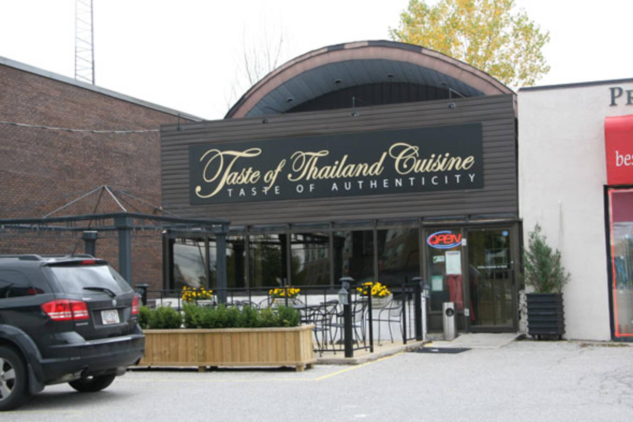 Taste of Thailand Cuisine Toronto