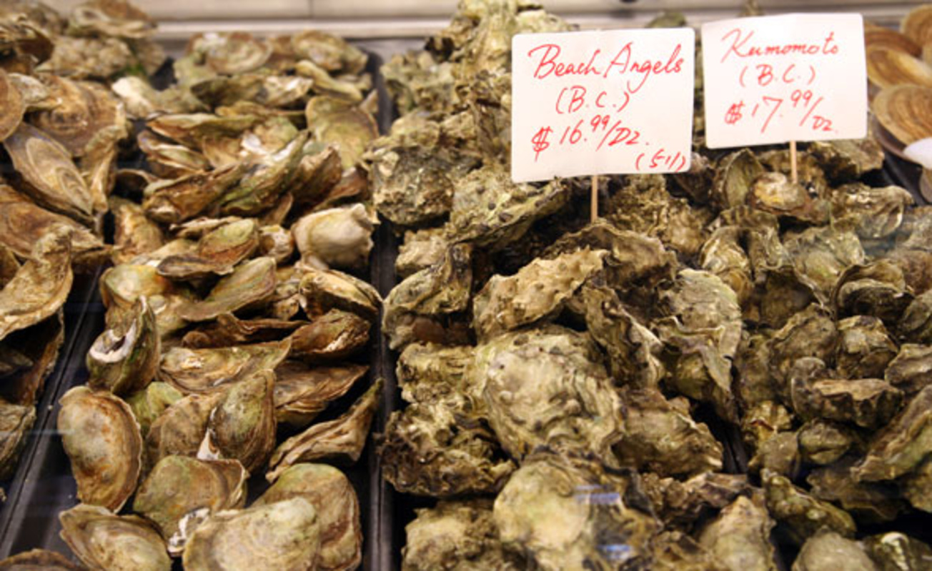 Diana's Seafood Delight Oysters