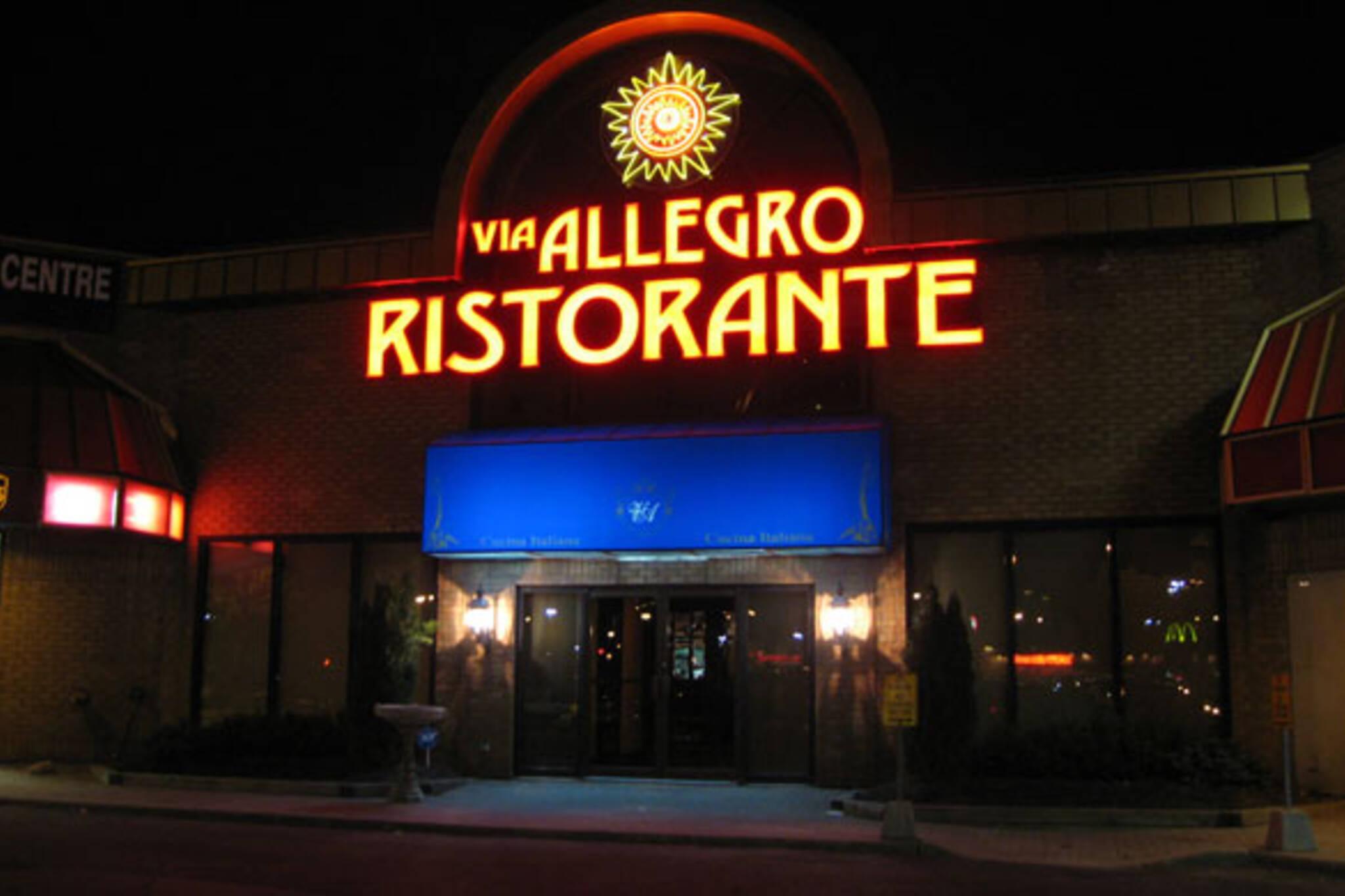 Via Allegro Toronto