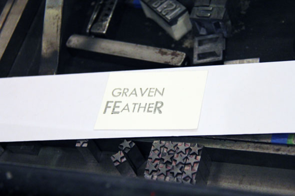 graven feather toronto workshop