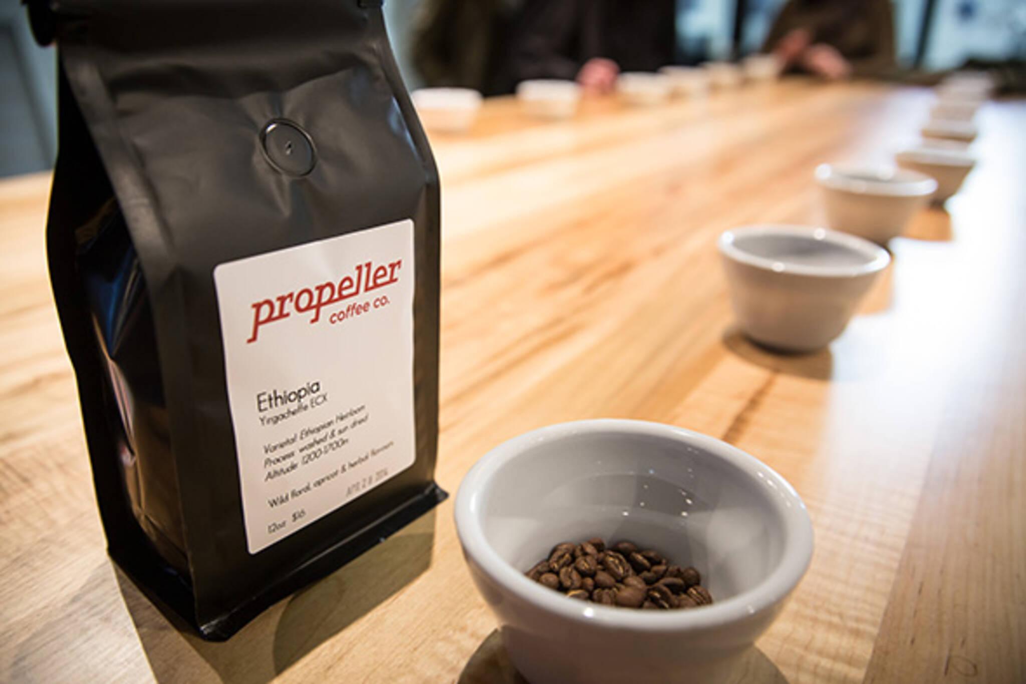 Propeller Coffee Toronto