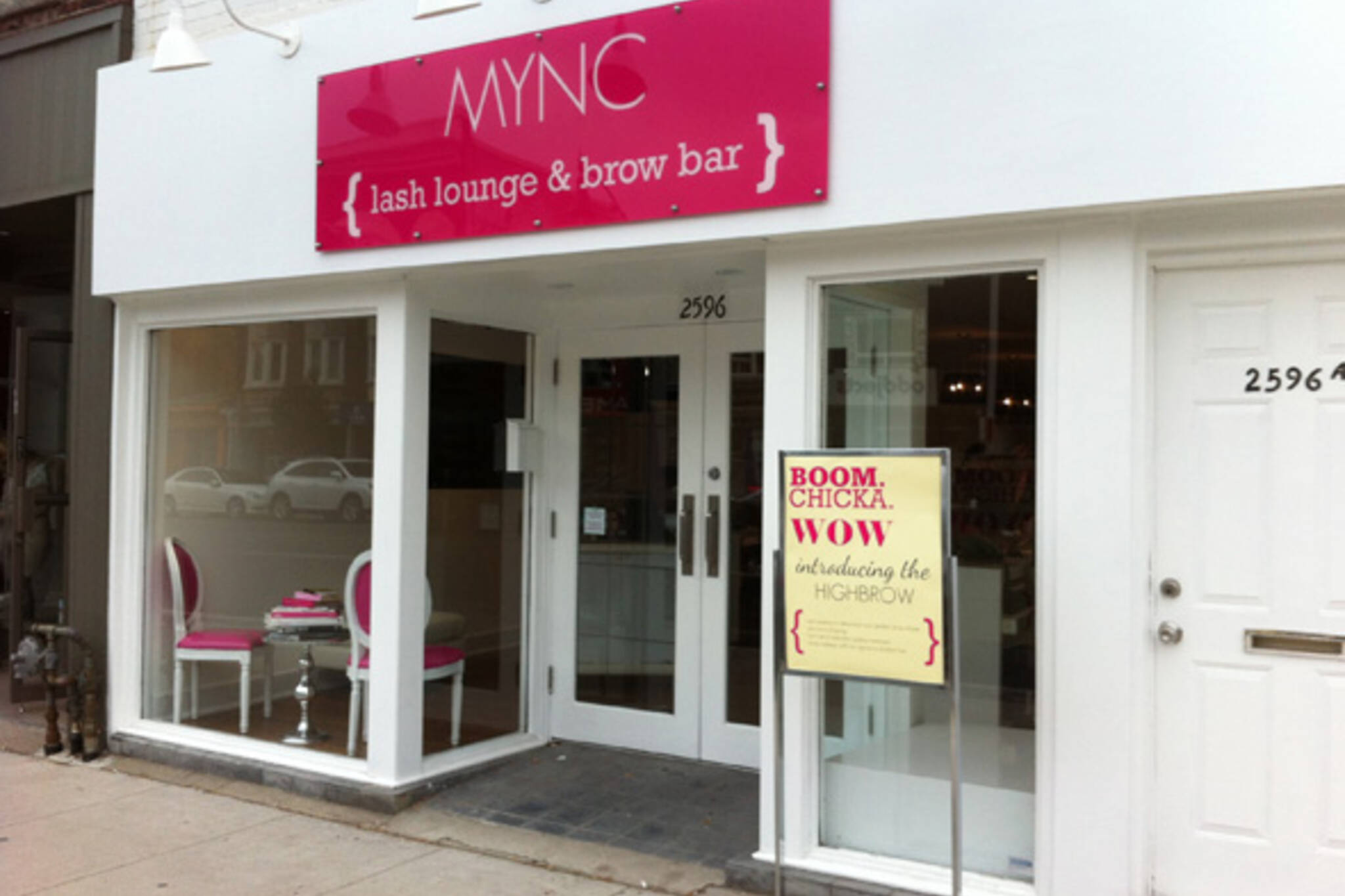 MYNC Lash Lounge & Brow Bar Toronto