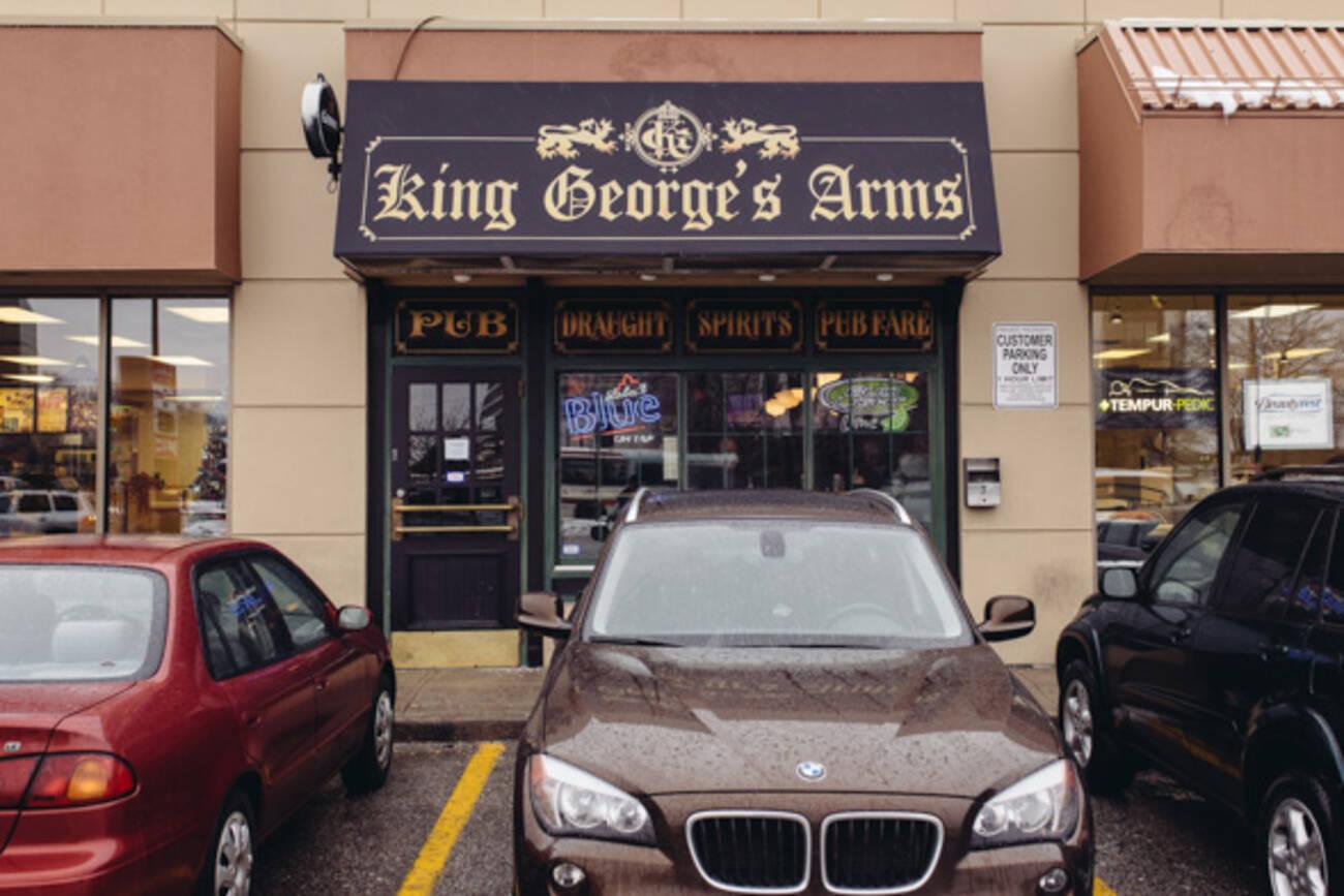 king george 39 s arms blogto toronto. Black Bedroom Furniture Sets. Home Design Ideas