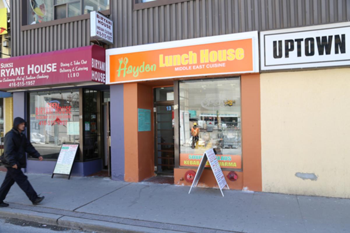 Hayden Lunch House Toronto