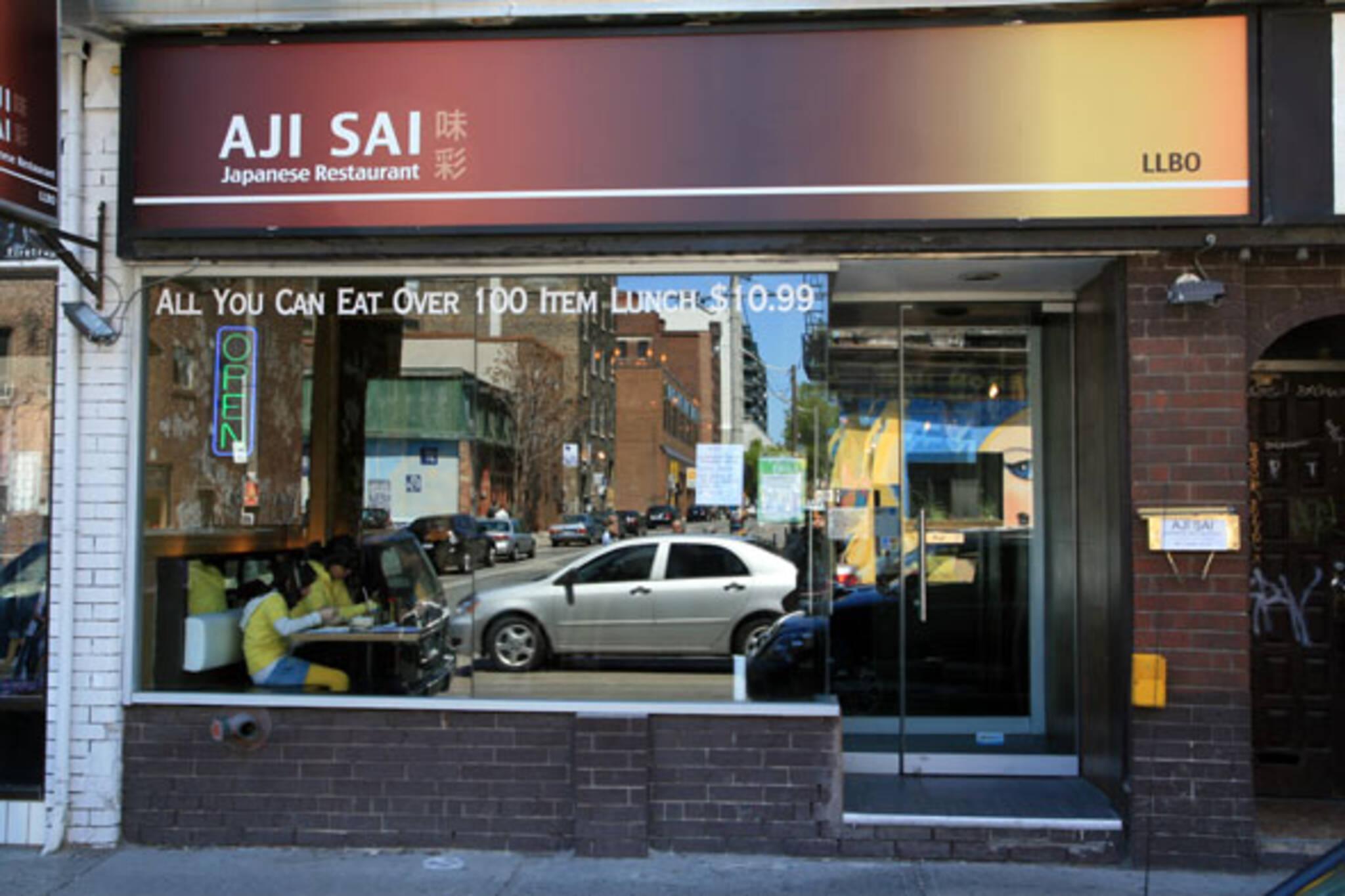 Aji sai blogto toronto for Aji sai asian cuisine