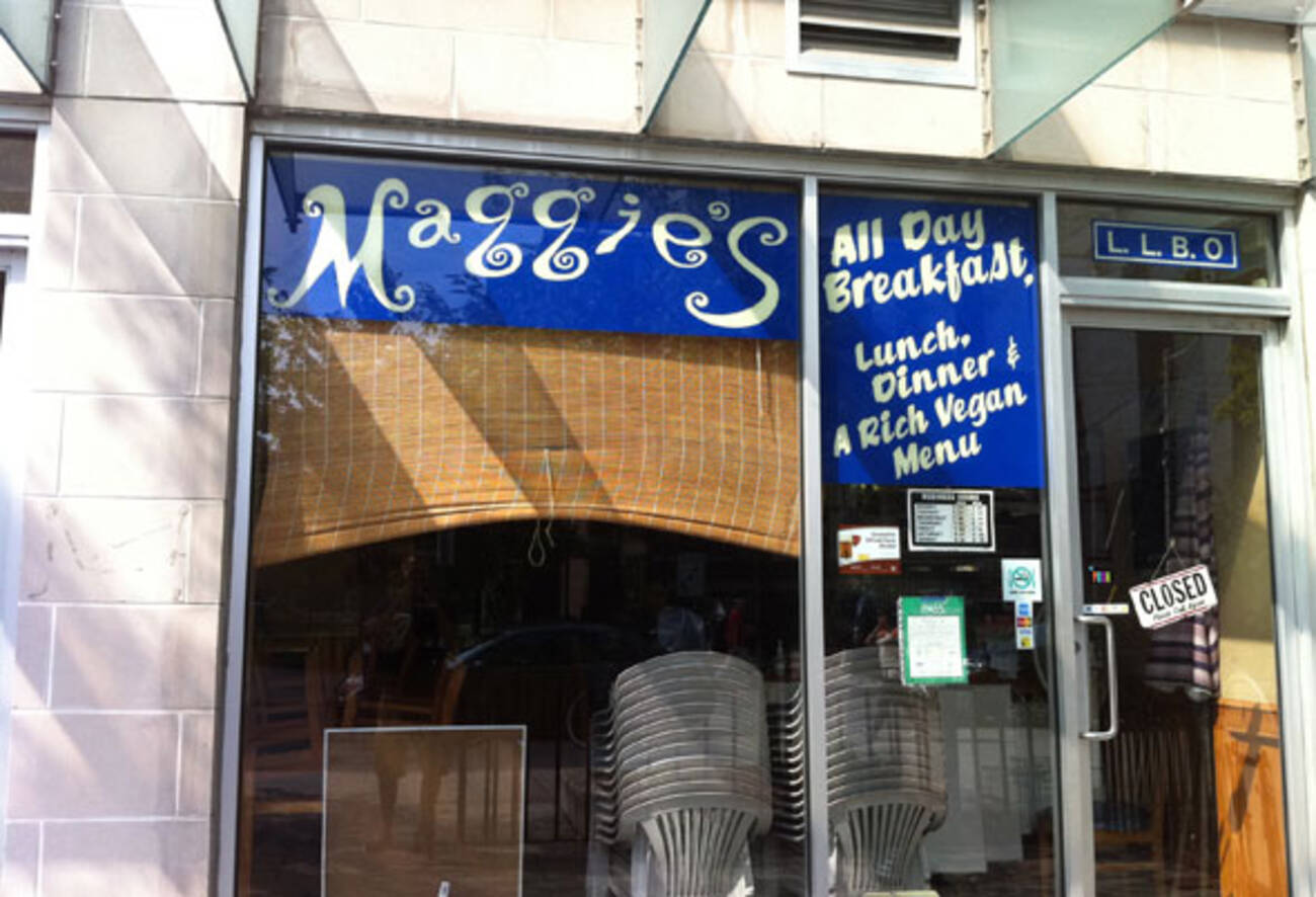 Maggie 39 s charles st closed blogto toronto for Ted s fish fry menu