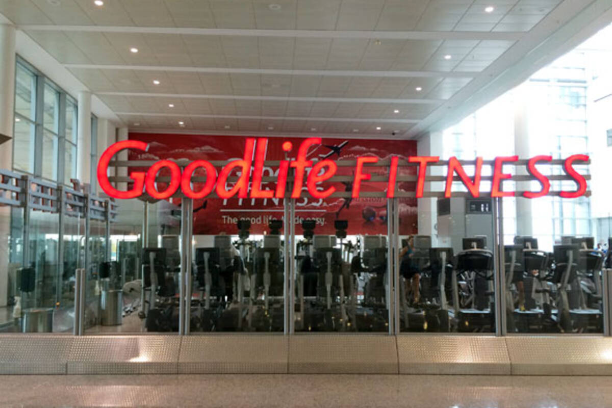 goodlife fitness airport. Black Bedroom Furniture Sets. Home Design Ideas