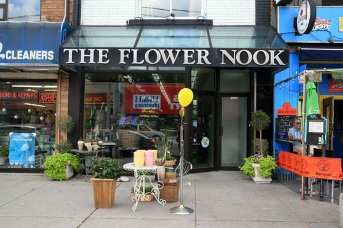 The Flower Nook Toronto