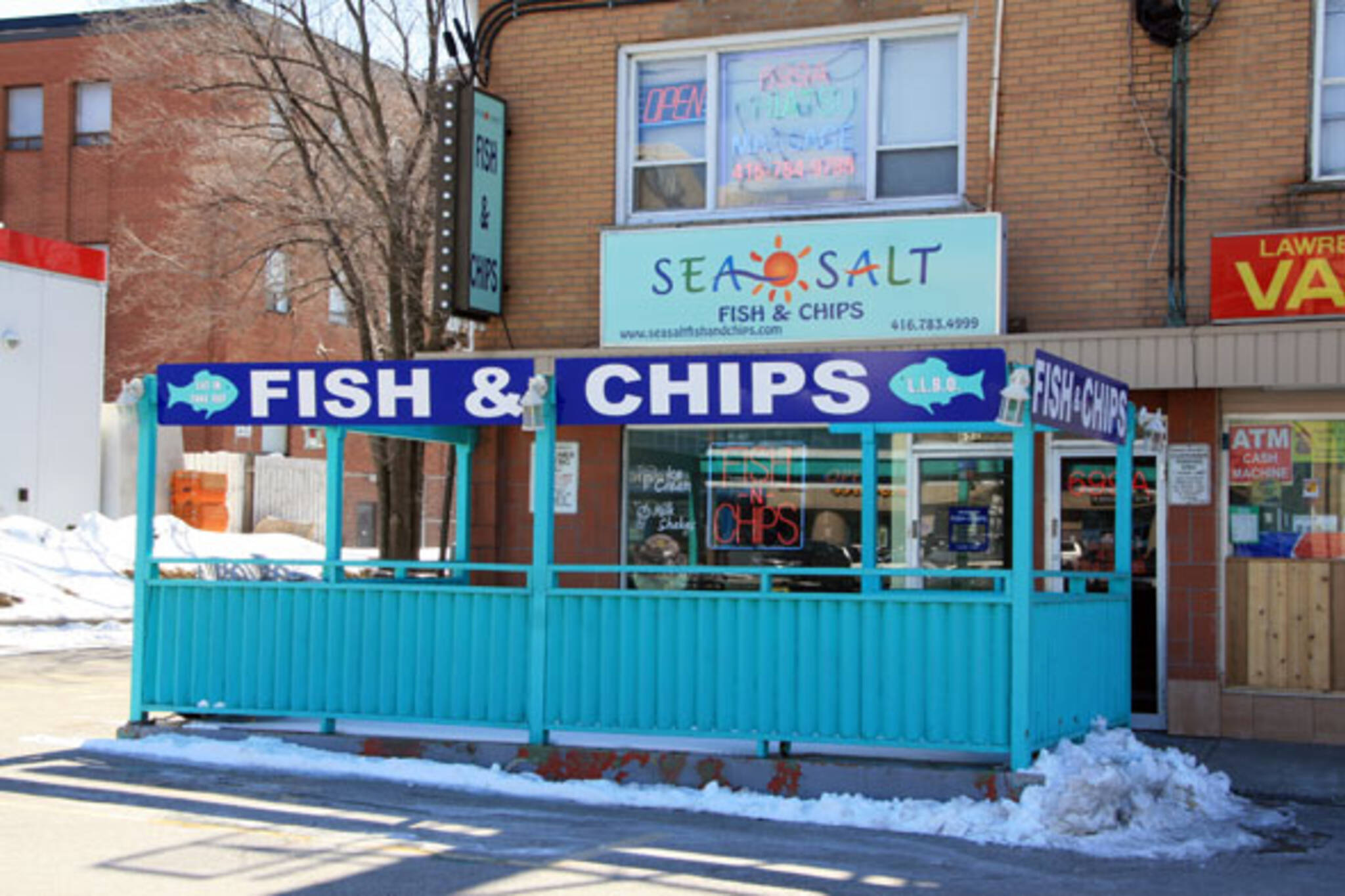 Sea salt fish chips closed blogto toronto for Best place for fish and chips near me